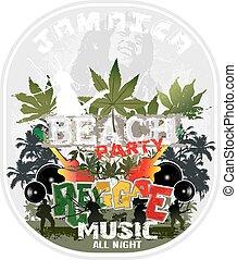 Reggae, jamaïque
