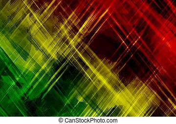 Reggae, résumé, fond