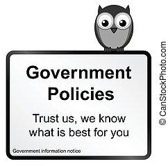 regierung, policies