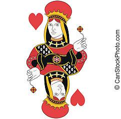 regina cuori, no, scheda