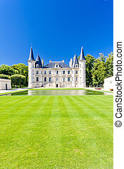 regione, longueville, pichon, castello, francia, bordeaux