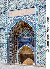 Registan mausoleum, Samarkand, Uzbekistan - Registan...