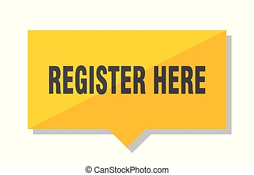 register here price tag