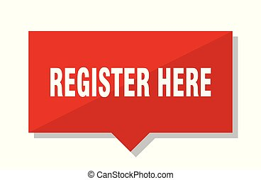 register here red tag