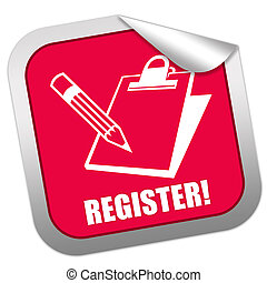 Register sticker