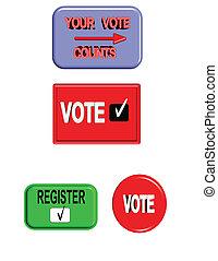 register to vote signage