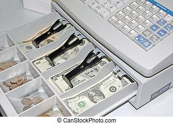 registo, dinheiro
