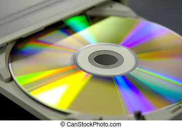 registrador, cd