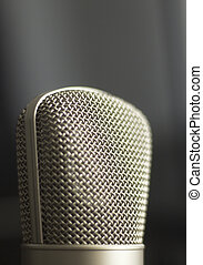 registrazione, microfono, voce, studio