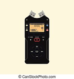 registreerapparaat, audio