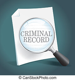 registreren, crimineel, het herzien