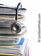 registro, médico