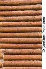 registro, parede, seção, manchado, house., detalhe, wood., pinho, close-up.