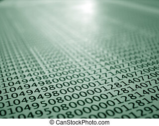 registros, concepto, codificado, impreso, base de datos