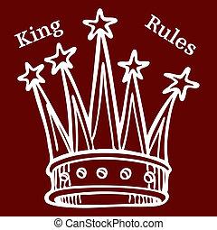 reglas, rey