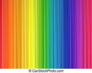 regnbåge färgar