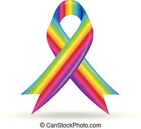regnbue, bånd
