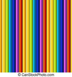 regnbue, seamless, mønster