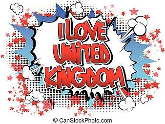 regno, unito, amore