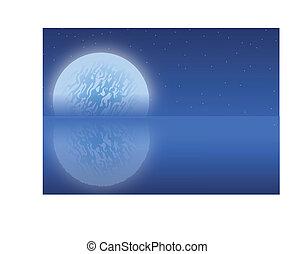 regolazione, luna