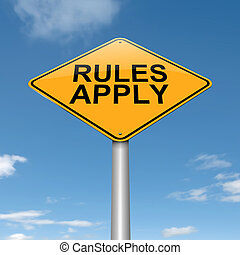 regole, apply.