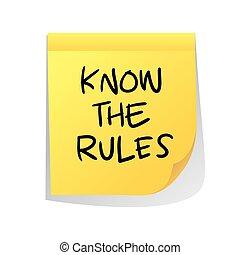 regole, sapere