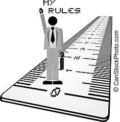 regras, mensagem, meu