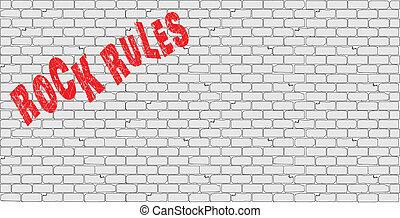 regras, rocha