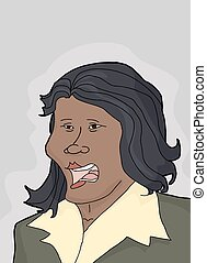 Regretful Woman