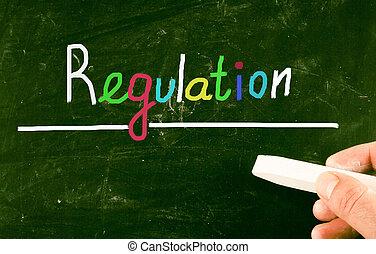 regulación, concepto