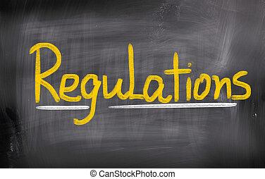 regulaciones, concepto
