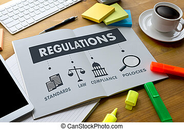 REGULATIONS and COMPLIANCE Rules Law professionals...