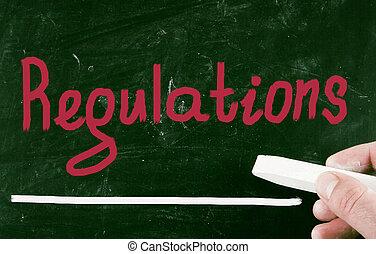 regulations concept