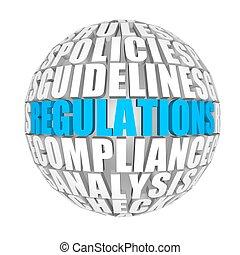 regulations.