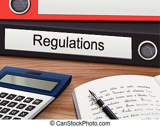 regulations on binders