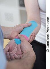 rehabilitáció, -ban, carpal alagút syndrome