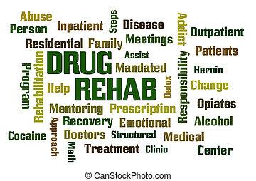 rehabilitación, droga