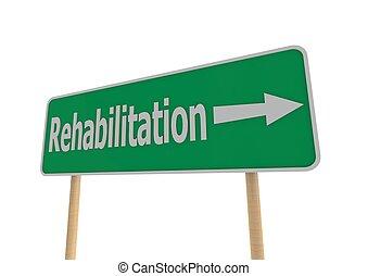 rehabilitatie, concept