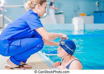 Rehabilitation in Swimming Pool