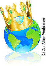 rei, conceito, mundo