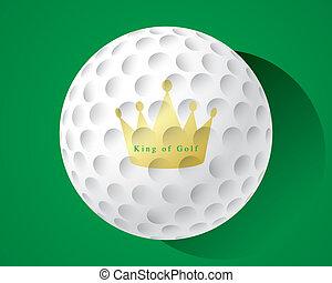 rei, de, golfe