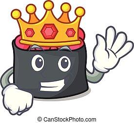 rei, estilo, ikura, caricatura, mascote