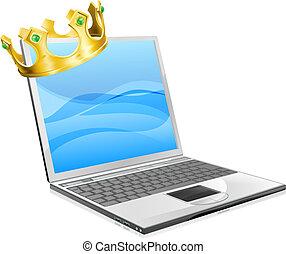 rei, laptop