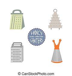 Gitter Für Küchenutensilien prozess, gemuese, reibe, kueche , gitter. grater., prozess, gemuese