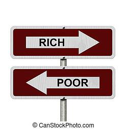 arm gegen reich