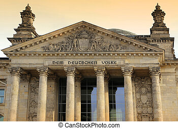 Reichstag building (Deutscher Bundestag), Berlin, Germany