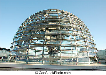 Reichstag Cupola, Berlin - The Cupola on top of the...