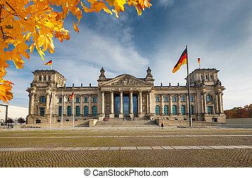 Reichstag in Berlin - View on Reichstag in Berlin