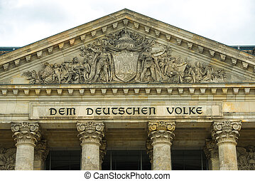 Reichstag - building of the German government