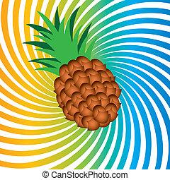 reif, ananas